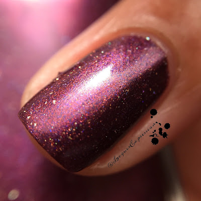nail polish swatch of Cranberry by M Polish