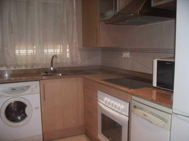 apartamento en venta oropesa costa azahar cocina