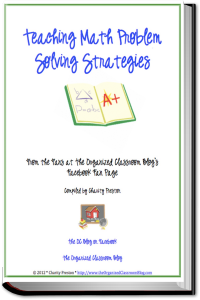 Want your free copy of the Teaching Math Problem Solving Strategies eBook?