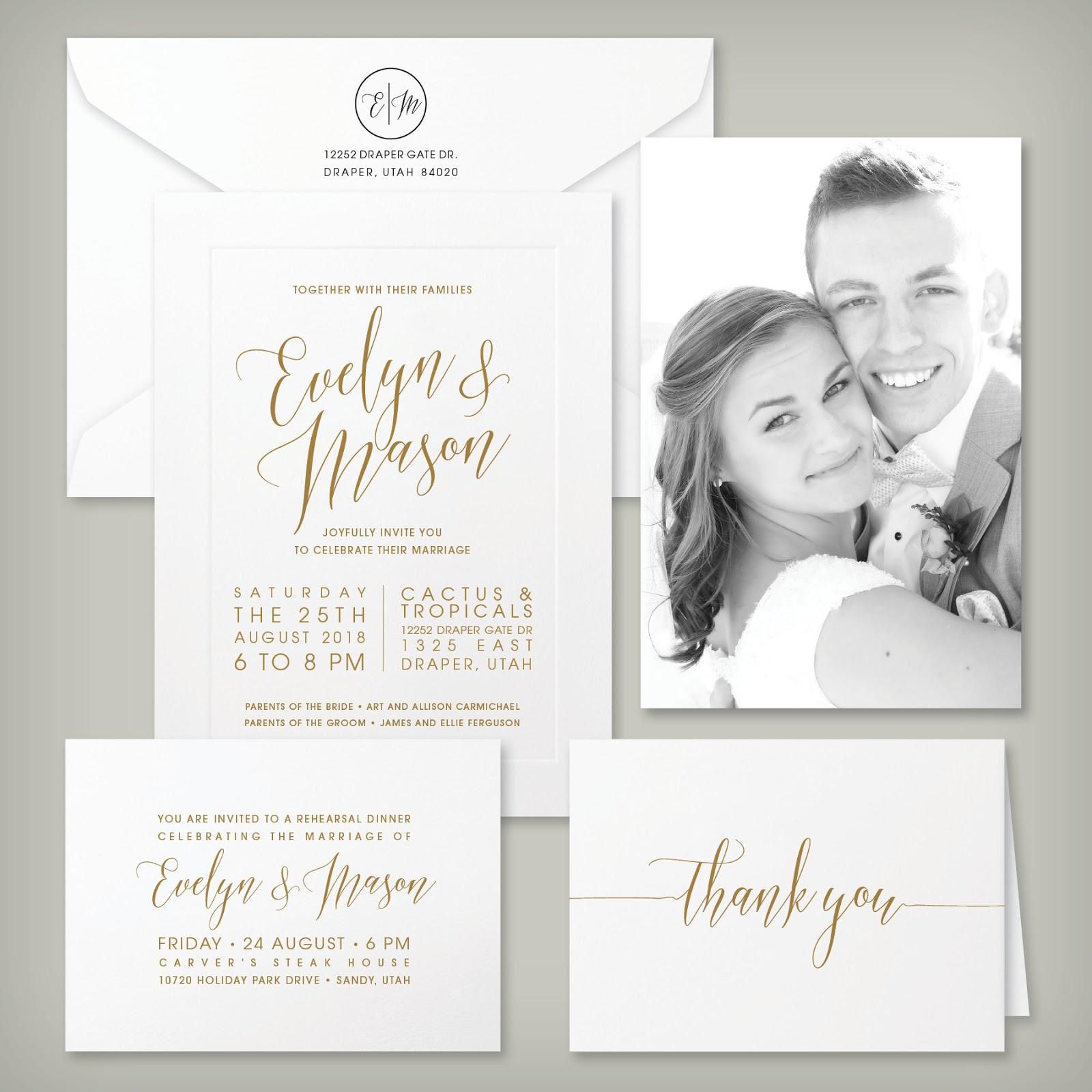 Wedding invitation blog affordable wedding invitations monicamarmolfo Images