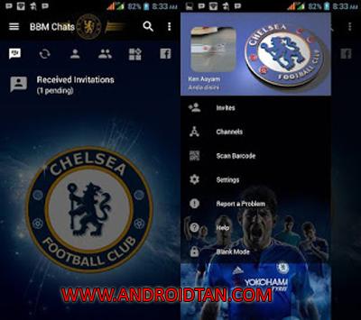 Download BBM Mod Apk Chelsea v3.2.5.12 Terbaru 2017