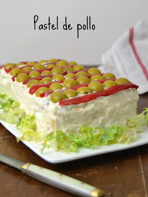 Pastel fr o de pollo receta de aprovechamiento for Cocina de aprovechamiento