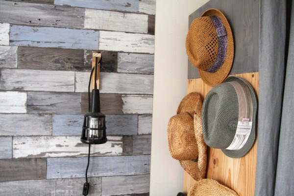 straw hat decor
