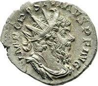 Hortfund römischer Münzen