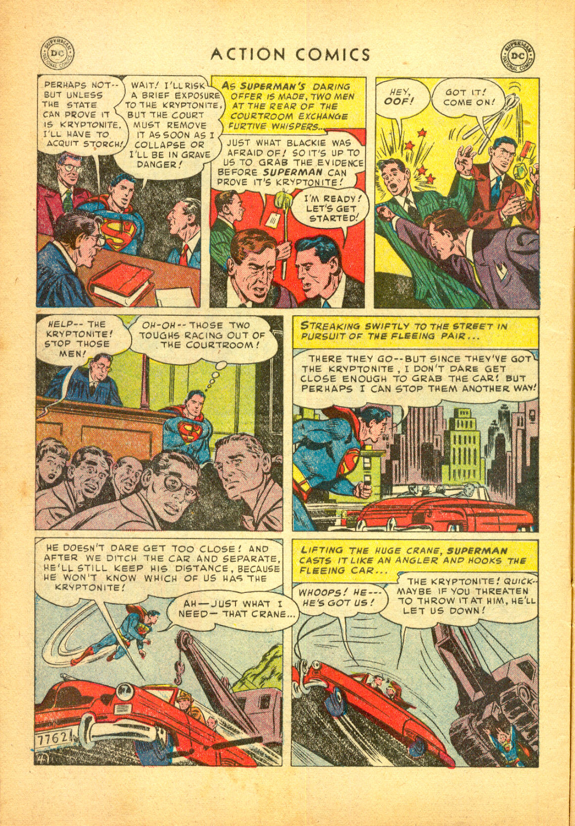 Read online Action Comics (1938) comic -  Issue #174 - 6