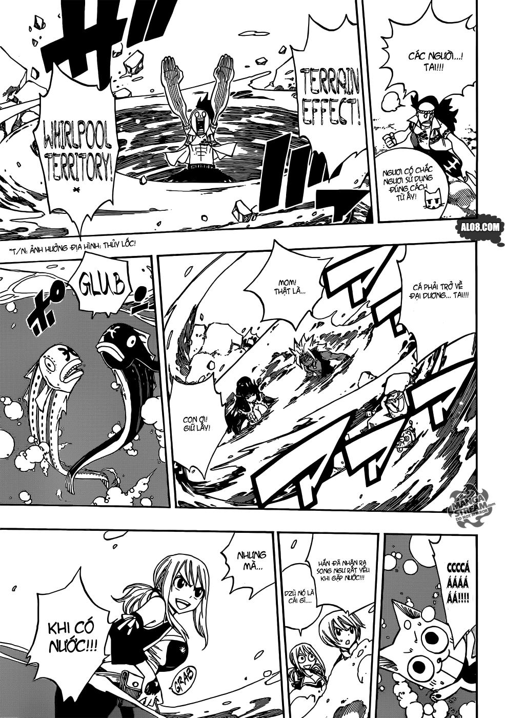 Fairy Tail chap 310 trang 7