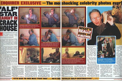 Max Wright en The National Enquirer