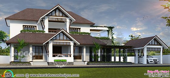 Neo traditional style home design