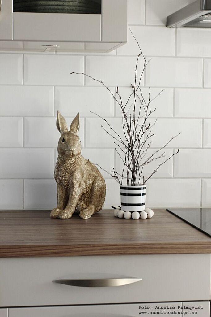 kanin, kaniner, webbutik, webbutiker, webshop, inredning, guld, påsk, påskdekoration, påskdetalj, påsken 2015, inredningsdetaljer annelies design, kök, köket, fårskinn, isländskt fårskinn, skinn, fäll, fällar, grått kök, hth,