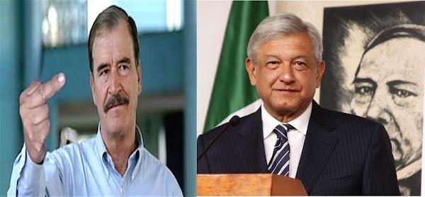 """""""La pensión la necesito, de eso vivo"""", el corrupto de Obrador jamas me la quitara  asegura Fox"""