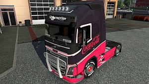 Coca Cola skin for Volvo 2012