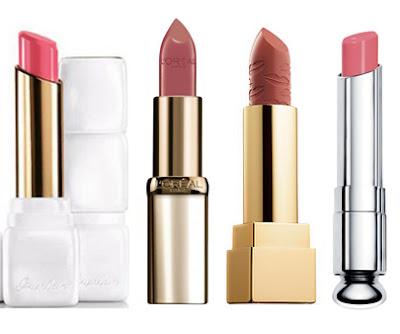 ysl, guerlain, dior, loreal paris lipstick