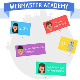 Curso como criar um website de alta qualidade Academia Webmaster Google