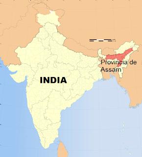 la proxima guerra provincia de assam noroeste de la india
