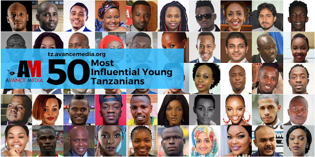 Nominees for the 50 Most Influential Young Tanzanians 2017 Announced