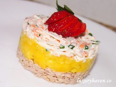 salam teapot fruity seafood appetizer recipe