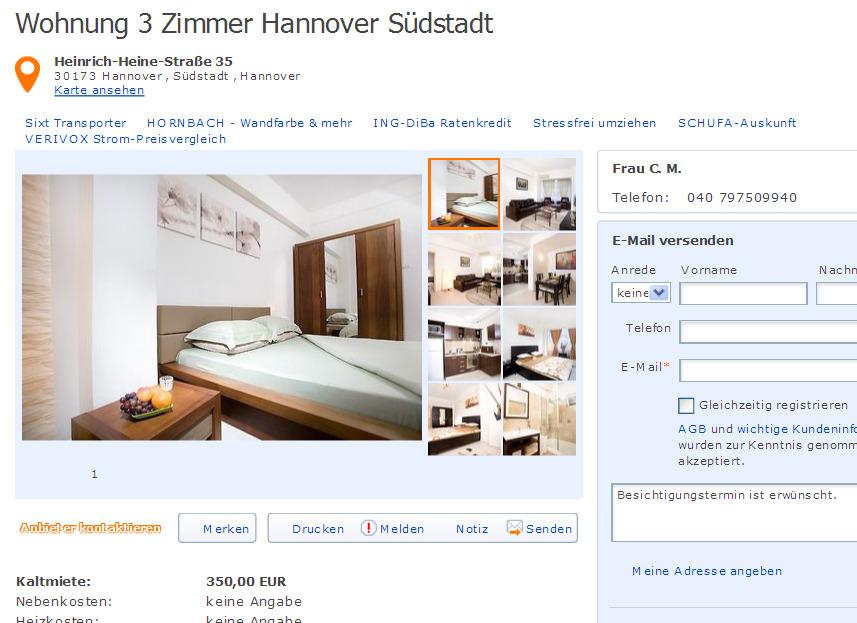 caroliname18 informationen ber wohnungsbetrug. Black Bedroom Furniture Sets. Home Design Ideas