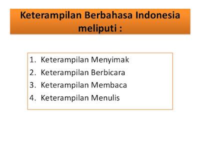KETERAMPILAN BERBICARA BAHASA INDONESIA