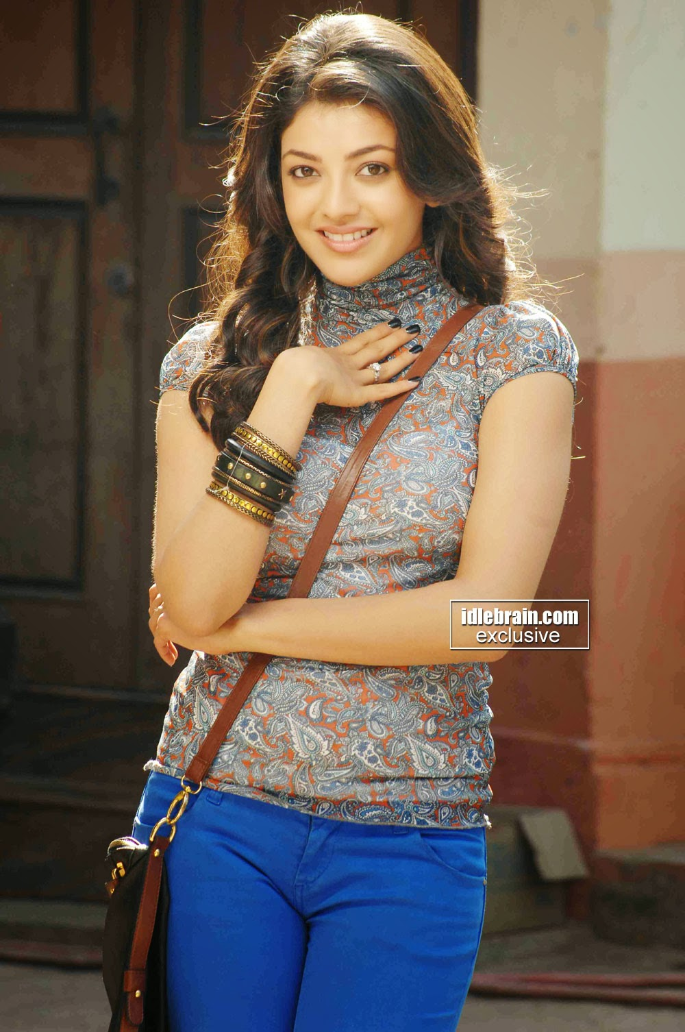 Indian Garam Masala Actress Kajal Agarwal In Thuppaki