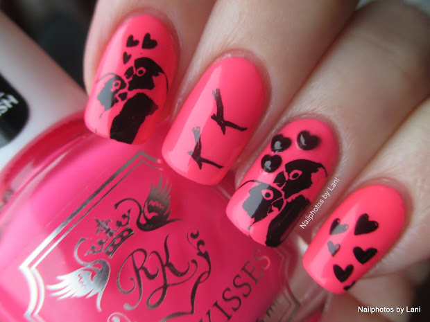 Lani Lovebirds - Valentine' Day Nails #11 Stamping Nail Art
