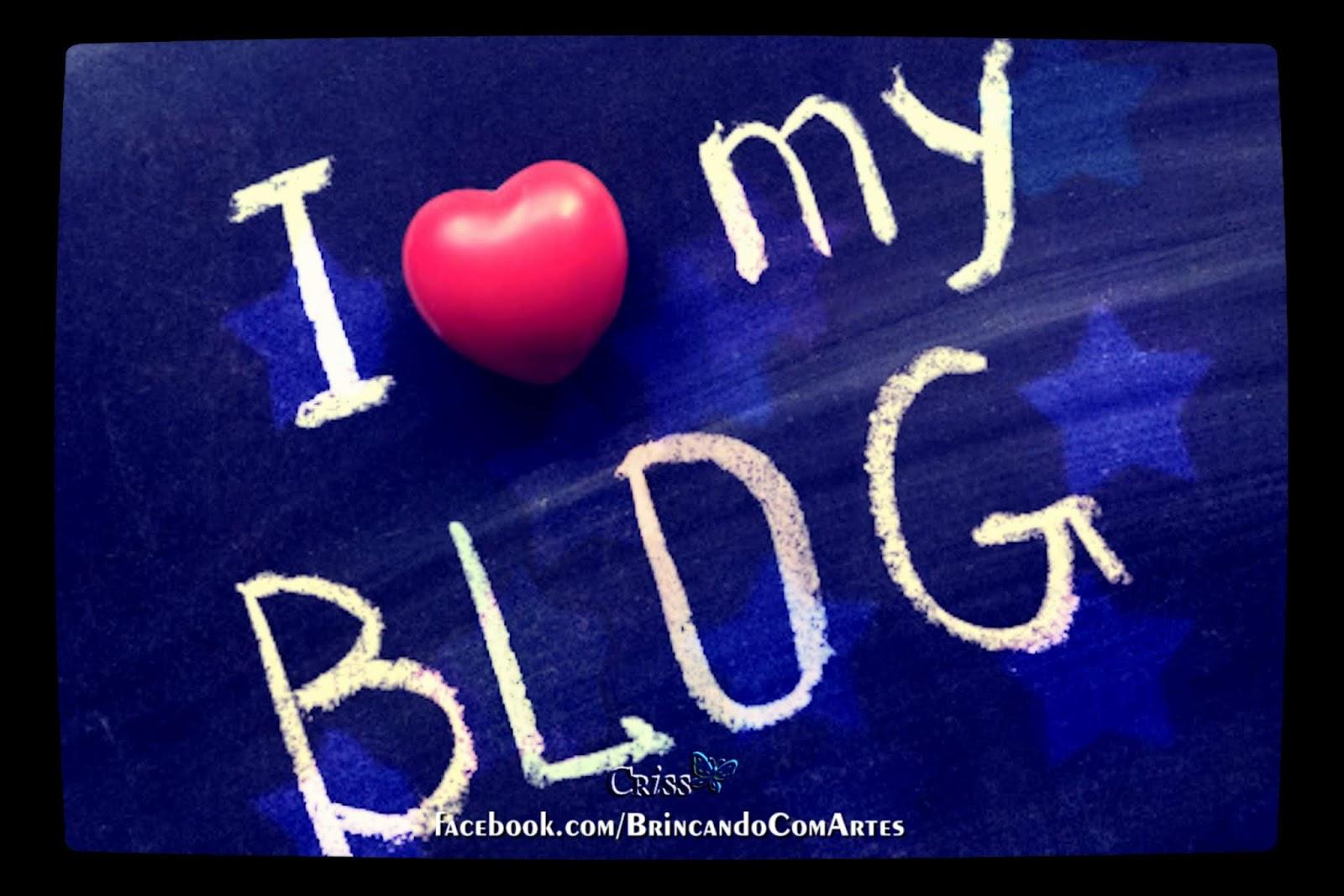 Eu amo blogar