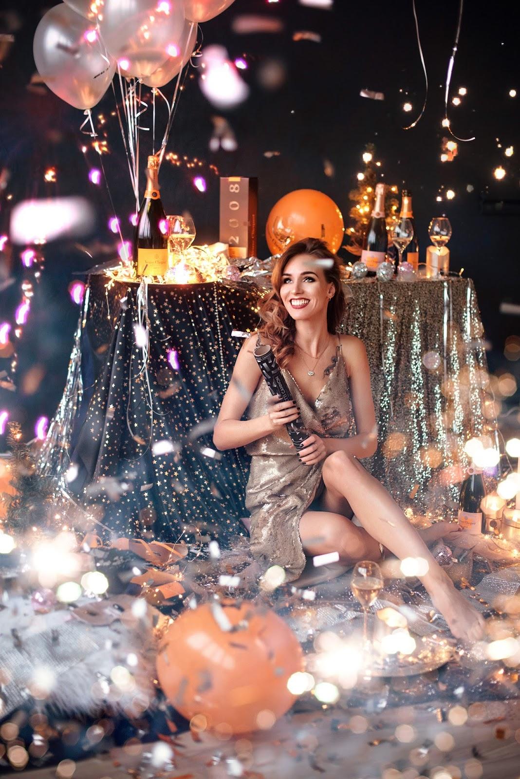 veuve clicquot champagne party celebration photography