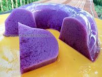 Resep puding ubi ungu