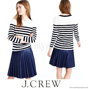 Kate Middleton wore J Crew Tippi Striped Sweater