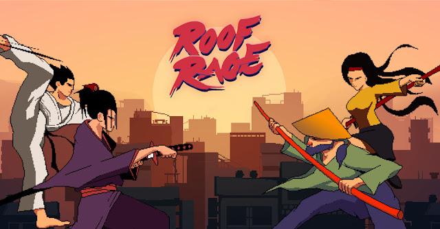 Roof Rage, jogo de luta de plataforma, será lançado no Switch em 16 de outubro