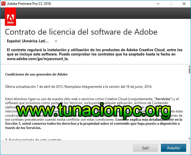 Descargar Adobe Premiere Pro CC 2018 Full Español Imagen