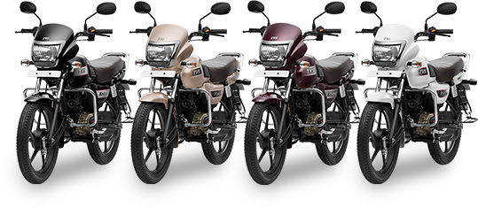 New TVS Radeon all colors bike
