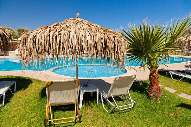 palmiye, havuz, tatil