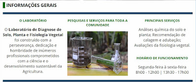 Laboratório de Diagnose de Solo, Planta e Fisiologia Vegetal da Unesp de Registro-SP