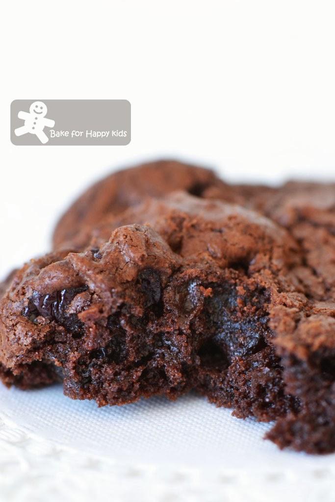 chocolate sour cherry cookies Bourke Street Bakery