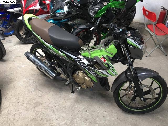 Sơn Suzuki Raider màu xanh z1000 cực đẹp