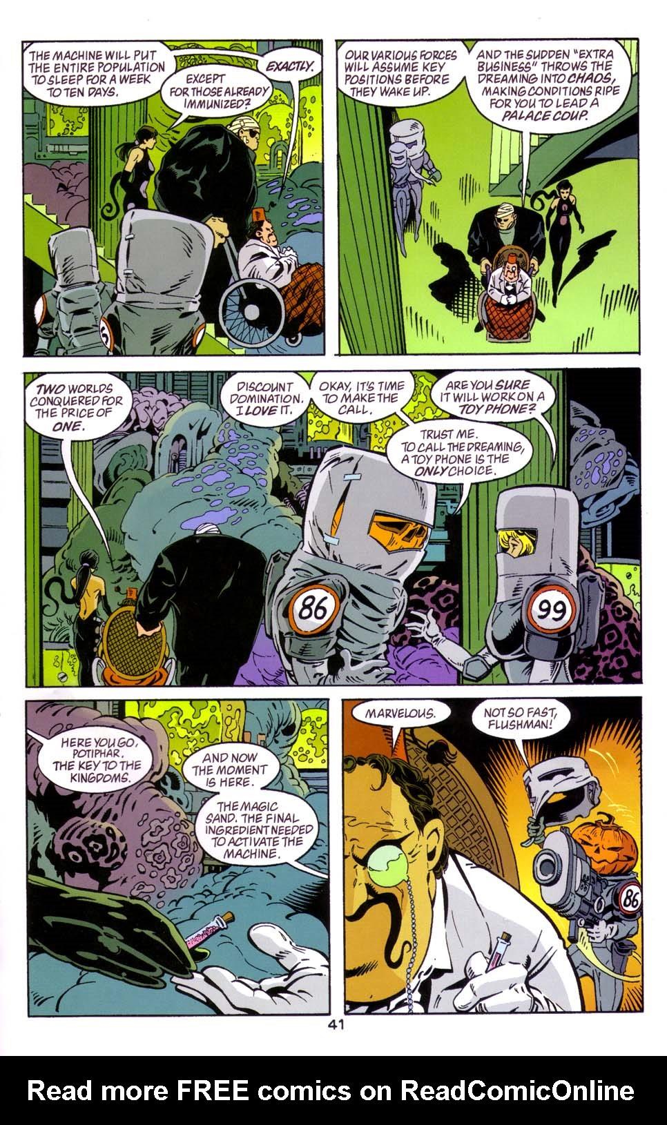 Read online Merv Pumpkinhead, Agent of D.R.E.A.M. comic -  Issue # Full - 41