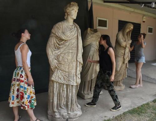 Έξι αρχαία ελληνικά αγάλματα ανακαλύφθηκαν στην Τουρκία