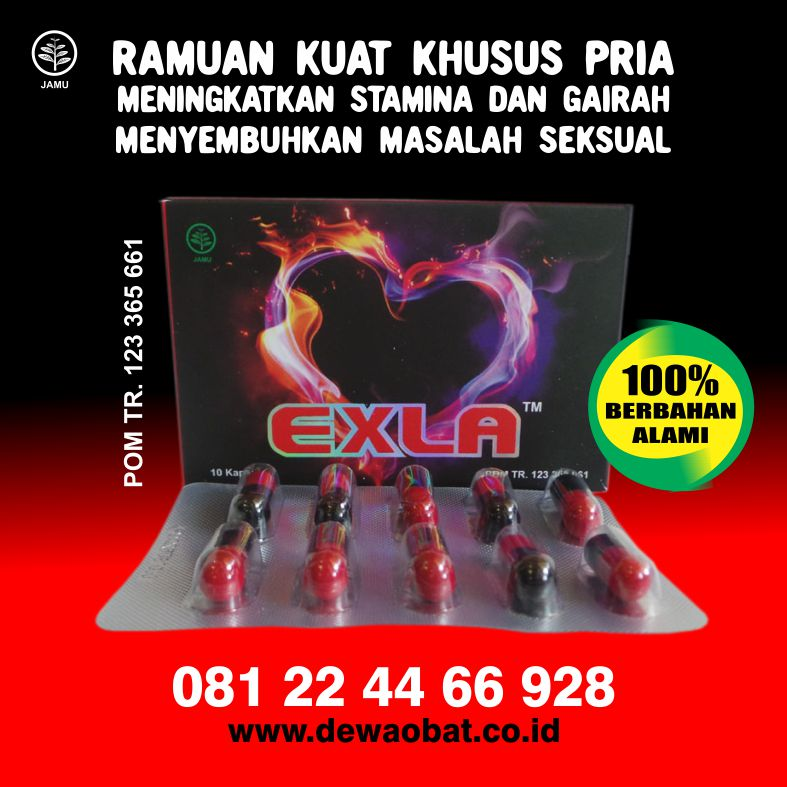 Herbal Alami Tahan Lama: Exla