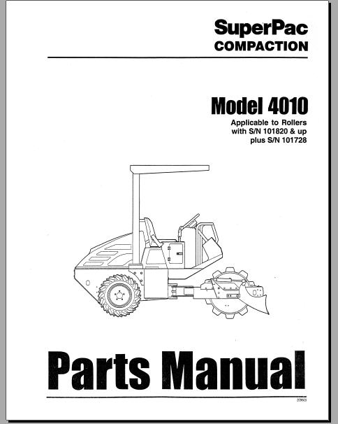 Free Automotive Manuals: SUPERPAC COMPACTION MODEL 4010