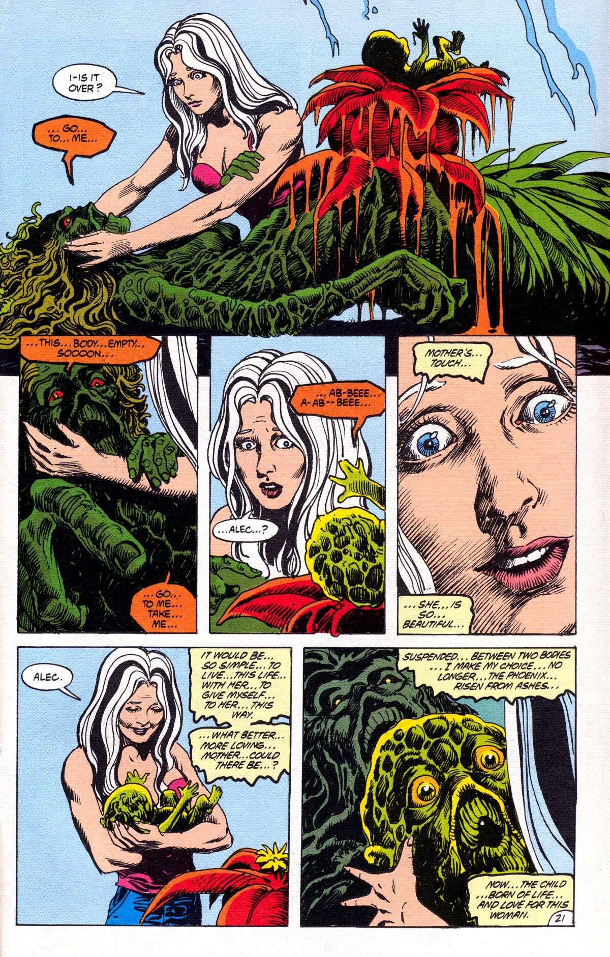 Swamp Thing (1982) Issue #78 #86 - English 22