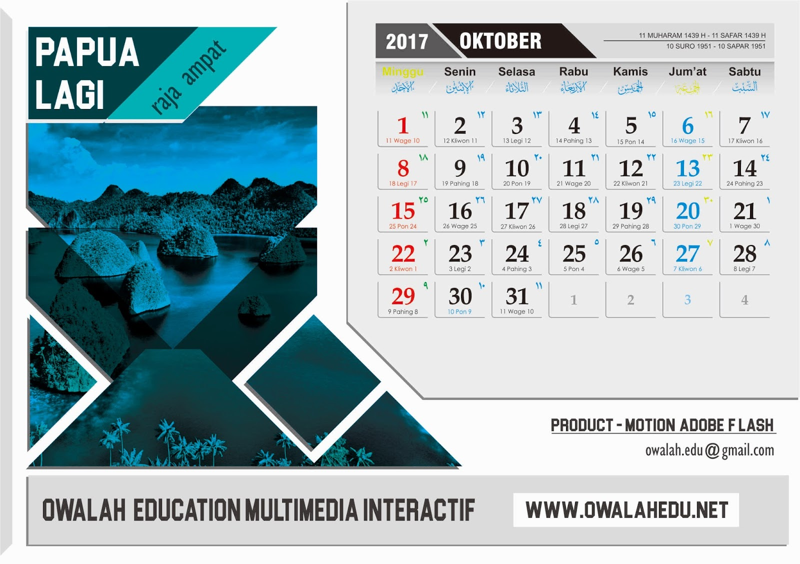 CARA MEMBUAT KALENDER MEJA BEST DESIGN CALENDAR INDONESIA ...