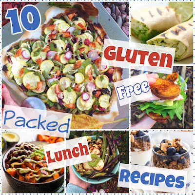 10 Gluten Free Packed Lunch Recipes For Eating On-the-Go