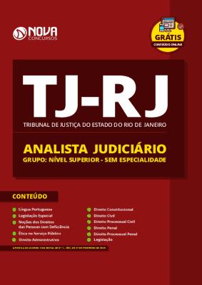 Apostila TJ RJ 2020 Analista Judiciário Sem Especialidade Grátis Cursos Online