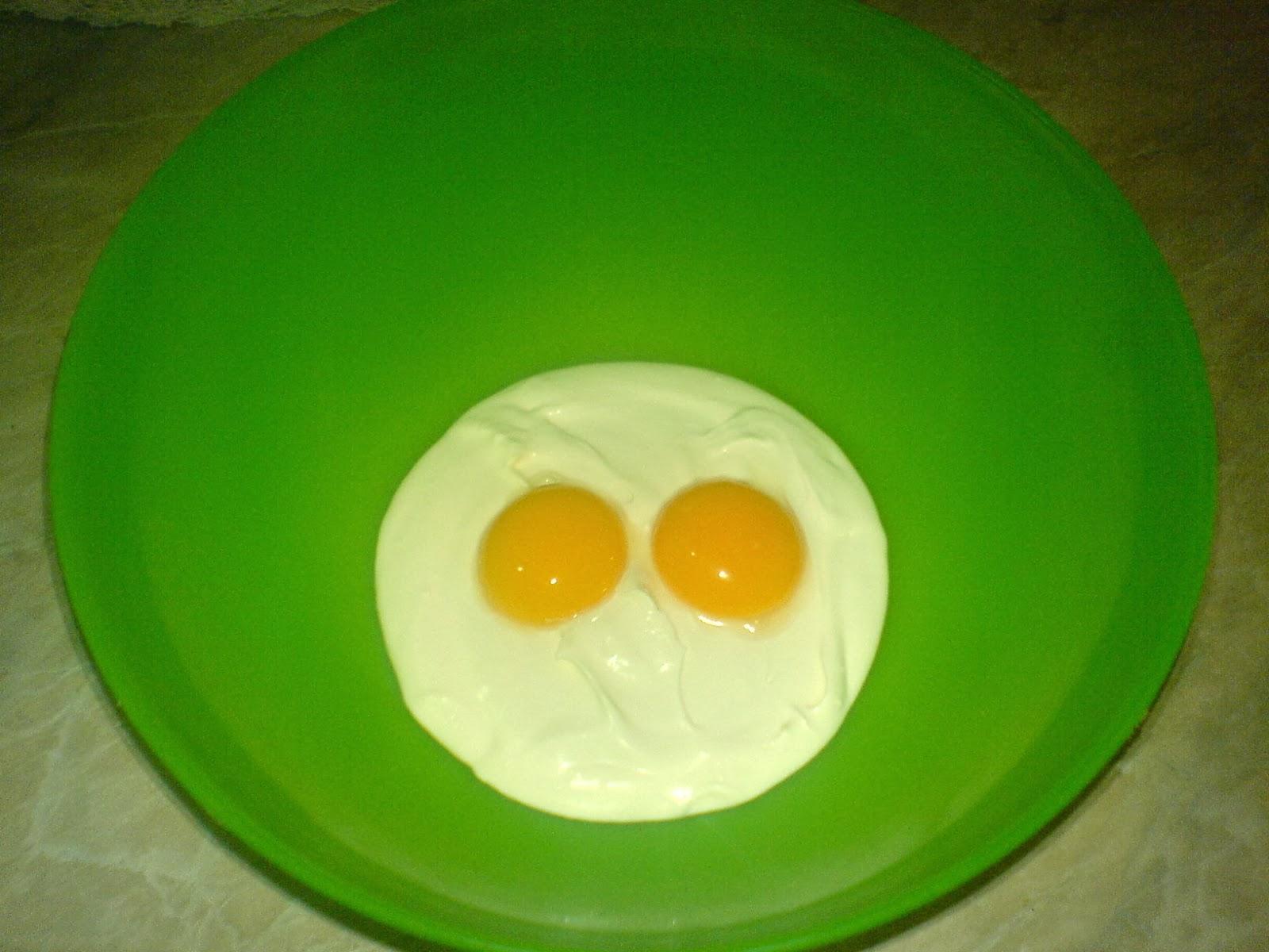 oua cu smantana pentru ciorba de pui a la grec