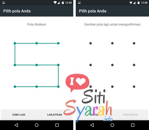 pola keamanan android