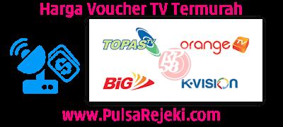 PulsaRejeki.Com Agen Voucher TV Prabayar Termurah