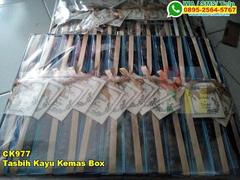 Harga Tasbih Kayu Kemas Box