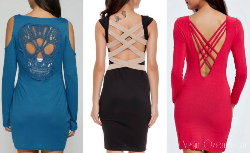 Backless Bodycon Dress-fashion blog