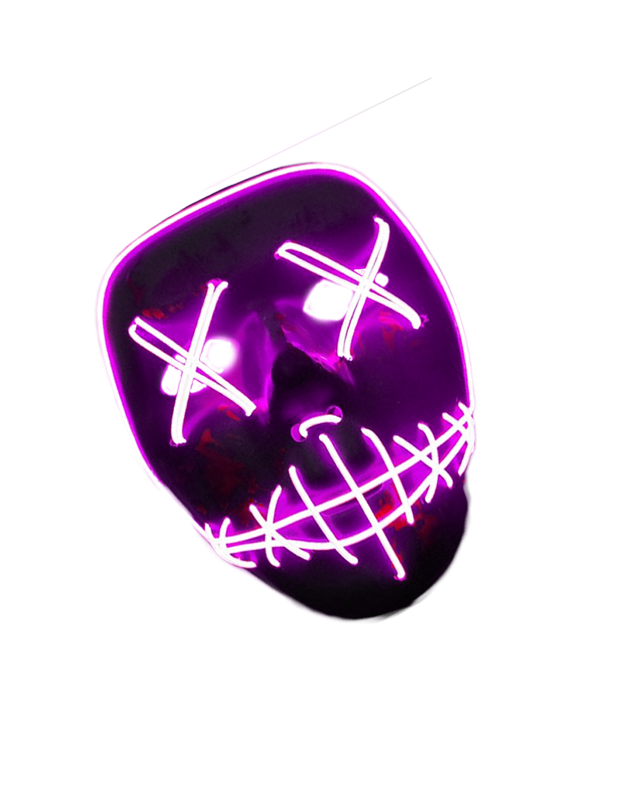 Jhakkaas Knowledge: 3D Hacker Neon Mask Photo Editing
