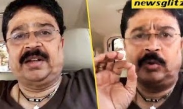 S. Ve. Shekher apology To Press People And Public